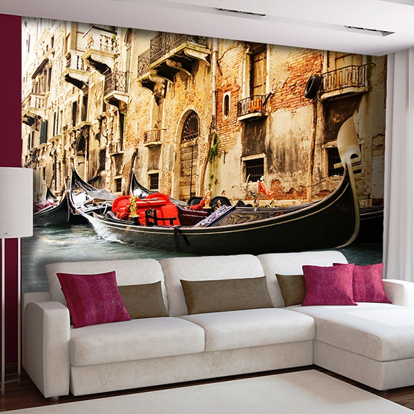 Fototapeten: Venedig Gondel 0