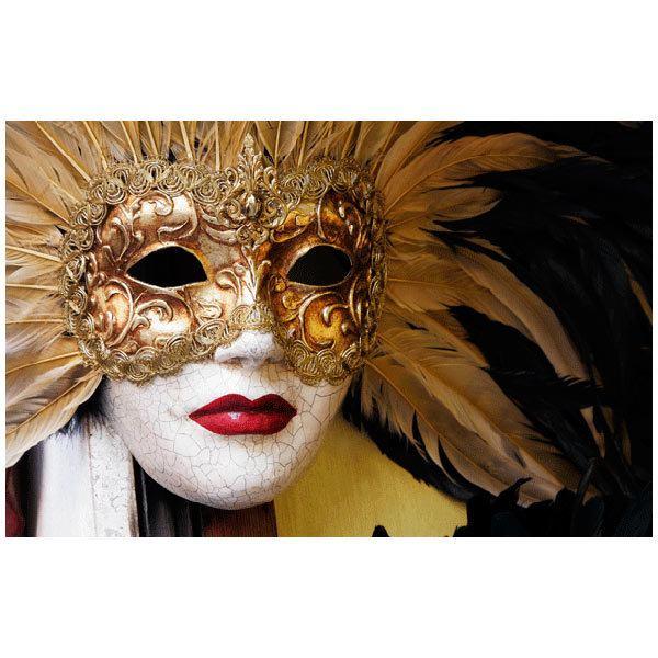 Fototapeten: Maske