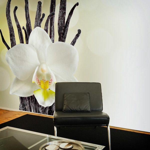 Fototapeten: White Orchid