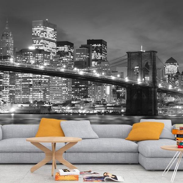 Fototapeten: Brooklyn-Brücke 0