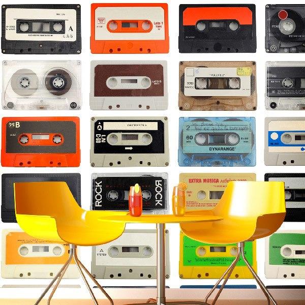 Fototapeten: cassette 0