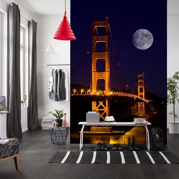 Fototapeten: Golden Gate 0