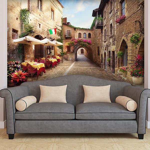 Fototapeten: Italienisches dorf
