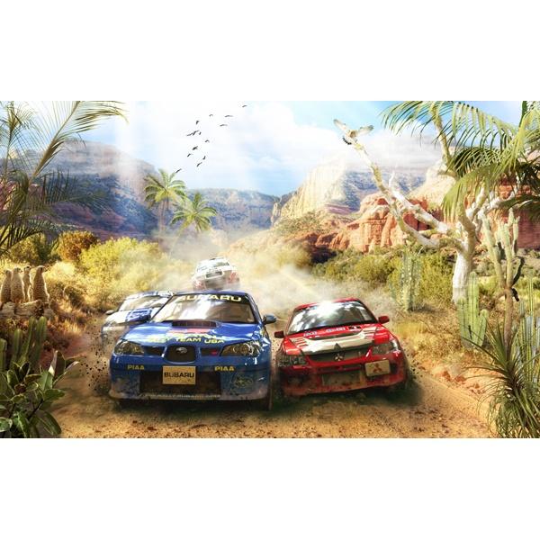 Fototapeten: Auto-Rallye