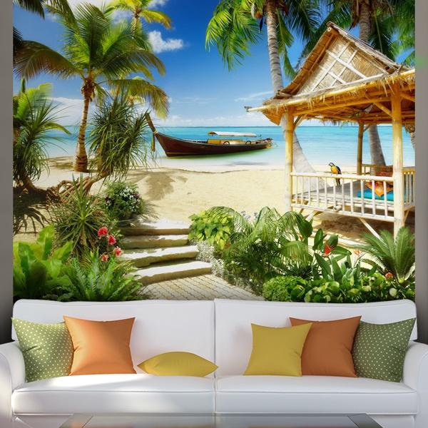 Fototapeten: Karibik-Strand