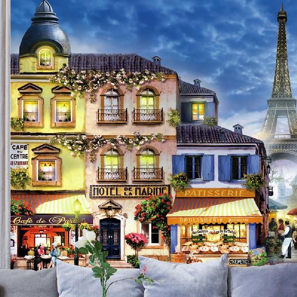 Fototapeten: Straßen von Paris 0