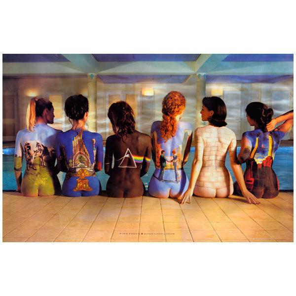 Wandtattoos: Pink Floyd deckt Scheiben