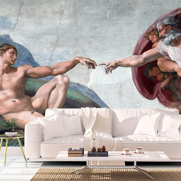 Fototapeten: Schaffung von Adam_Michelangelo 0