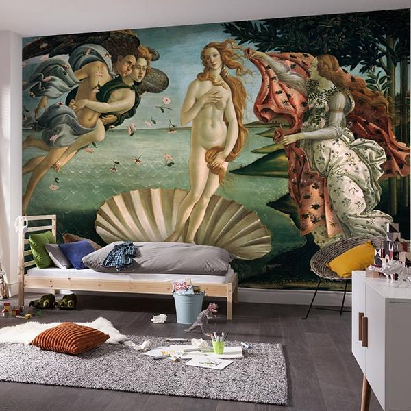 Fototapeten: Die Geburt der Venus_Botticelli 0