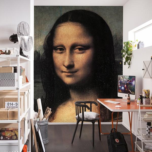 Fototapeten: Mona Lisa (Detail)_Da Vinci