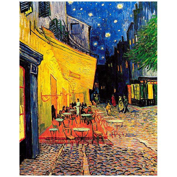 Fototapeten: Die Café-Terrasse in Arles bei Nacht_Van Gogh