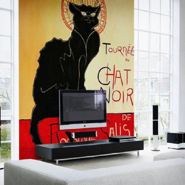 Fototapeten: Katze_Lautrec 0