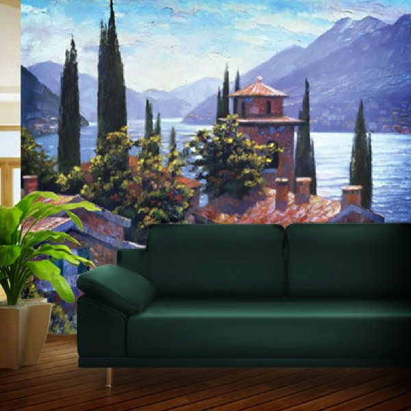 Fototapeten: Lake Lugano (Howard Beherens) 0