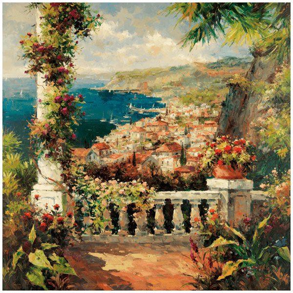 Fototapeten: View from the terrace (Peter Bell)