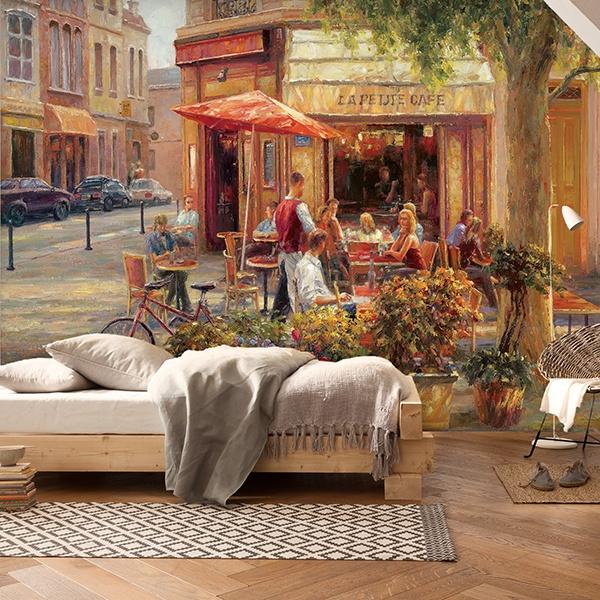 Fototapeten: Cafe Corner, Paris (Haixia Liu) 0