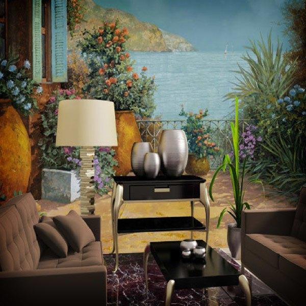 Fototapeten: Pots on the terrace (Guido Borelli)