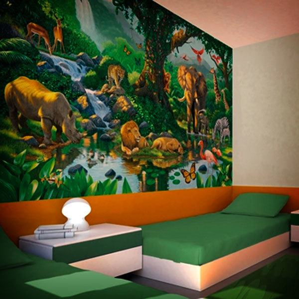 Fototapeten: Dschungel