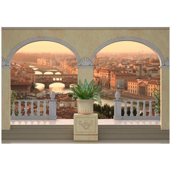 Fototapeten: Ansicht von Florenz