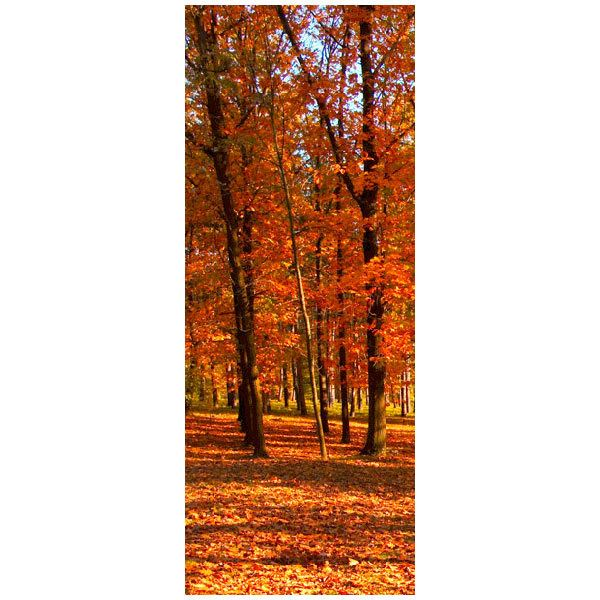 Wandtattoos: Bosque en otoño