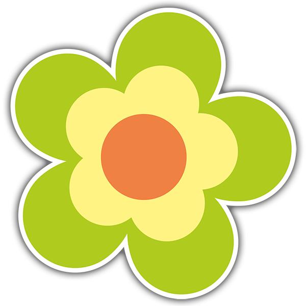 Wandtattoos: Flower