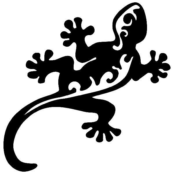 Wandtattoos: Salamander