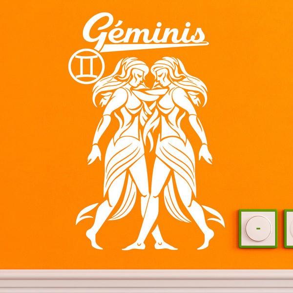 Wandtattoos: zodiaco 13 (Geminis)