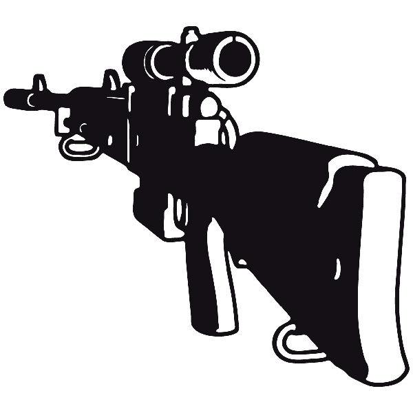 Aufkleber: Waffe 7