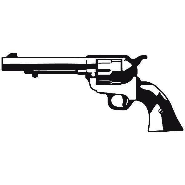 Aufkleber: Waffe 12