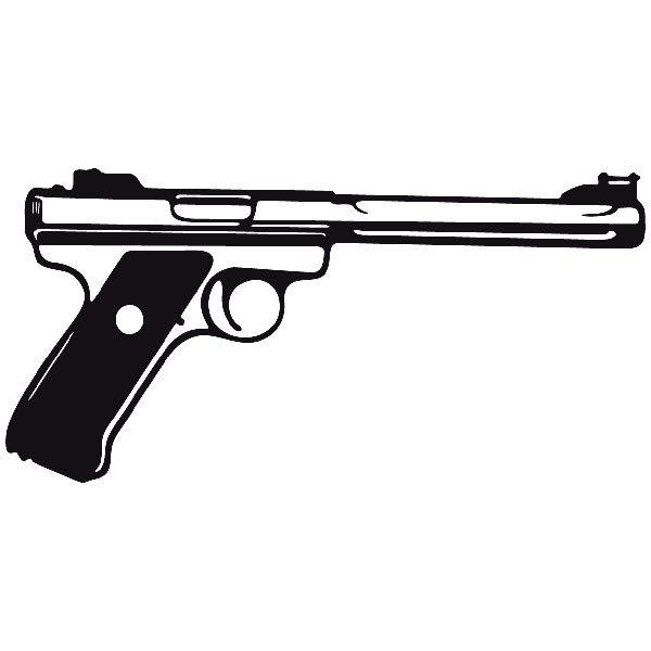 Aufkleber: Waffe 15