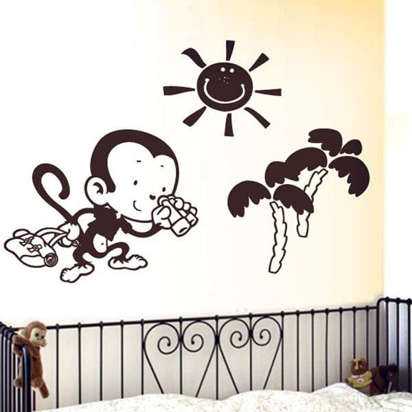 Kinderzimmer Wandtattoo: Monito