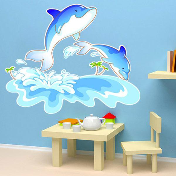 Kinderzimmer Wandtattoo: Dauphin