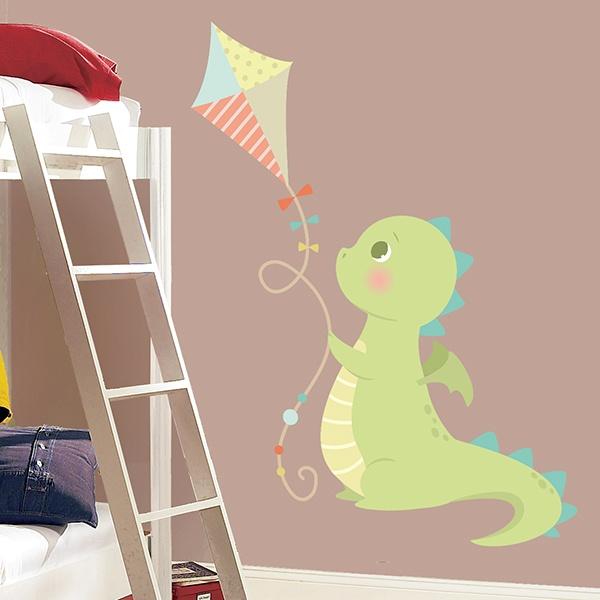 wandtattoo dinosaurier. Black Bedroom Furniture Sets. Home Design Ideas