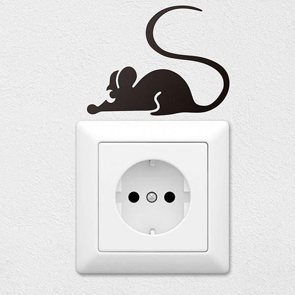 Wandtattoos: Maus