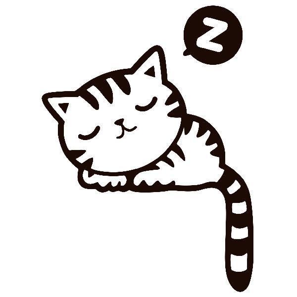 Wandtattoos: Kätzchen