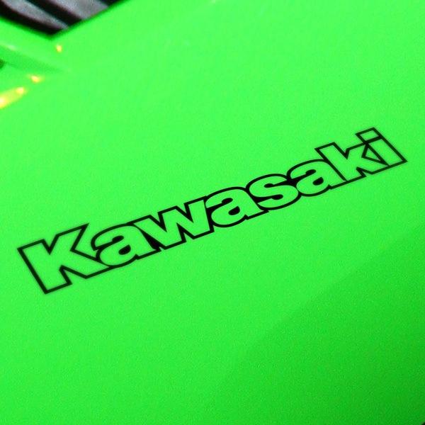 Aufkleber: Kawasaki contorno
