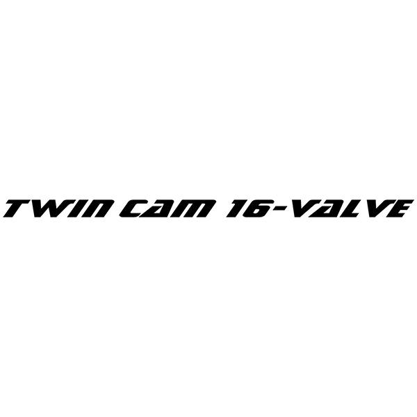 Aufkleber: ZZR, Twim cam 16 Valve