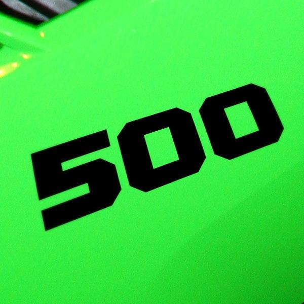 Aufkleber: 500