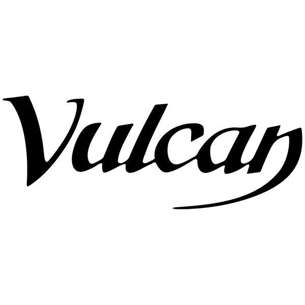 Aufkleber: Vulcan