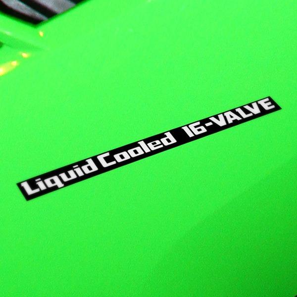 Aufkleber: GPZ600R, LiquidCooled