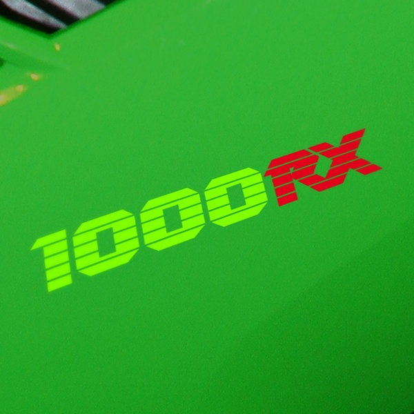 Aufkleber: GPZ1000RX, 1000RX