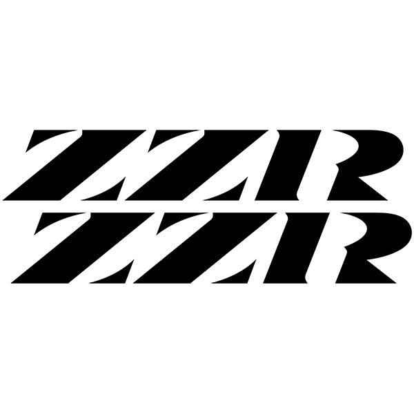 Aufkleber: ZZR1100, ZZR