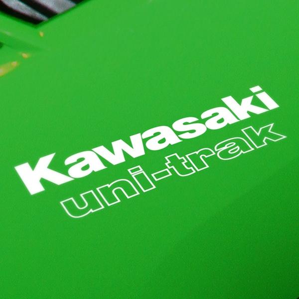 Aufkleber: GPZ-750-Turbo-1985, Kawasaki uni-trac