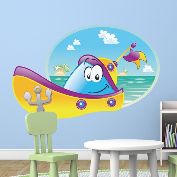 Kinderzimmer Wandtattoo: Ruedibarca