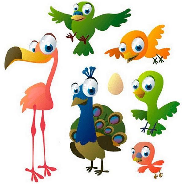 Kinderzimmer Wandtattoo: Birds 7
