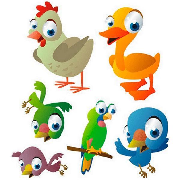 Kinderzimmer Wandtattoo: Birds 9
