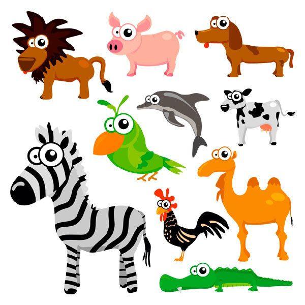 Kinderzimmer Wandtattoo: Jungle 2