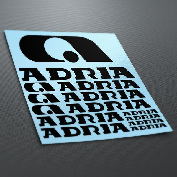 Aufkleber: Kit Adria 1