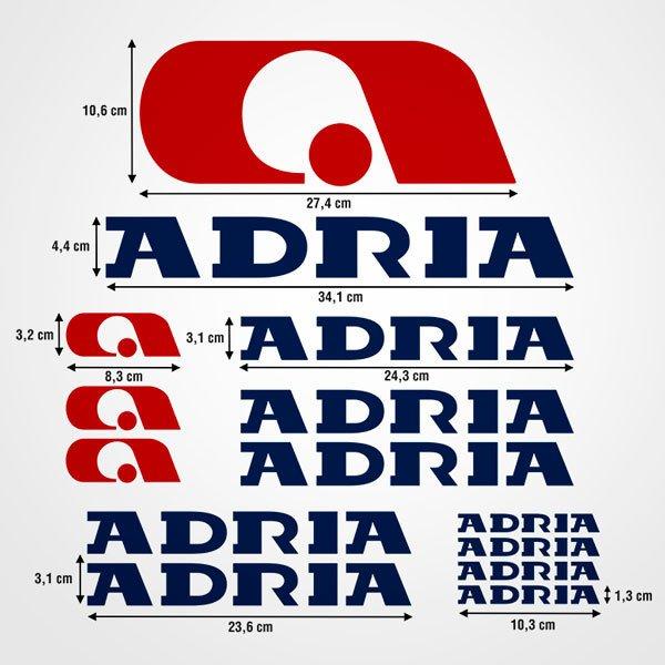 Aufkleber: Kit Adria 2