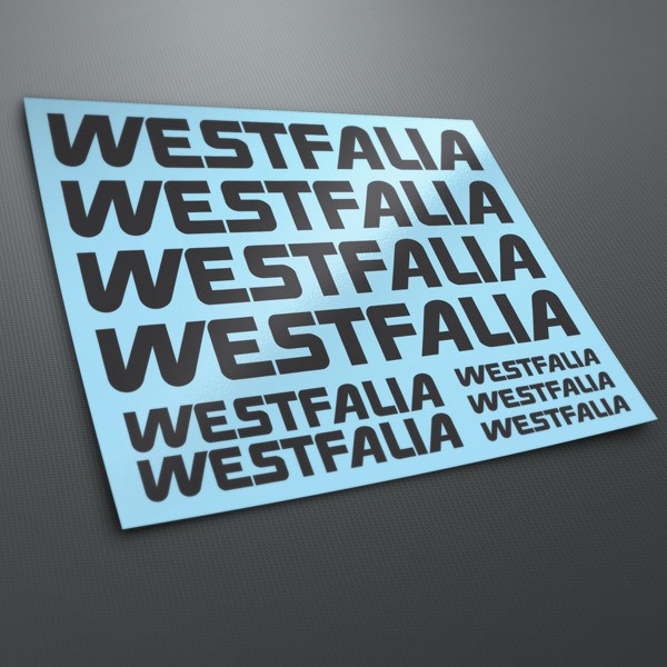 Aufkleber: Kit Westfalia 1