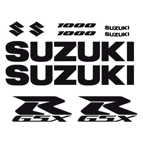Aufkleber: GSXR 1000-2004
